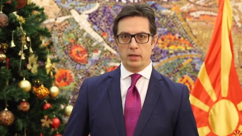 Presidenti Pendarovski uron besimtarët myslimanë