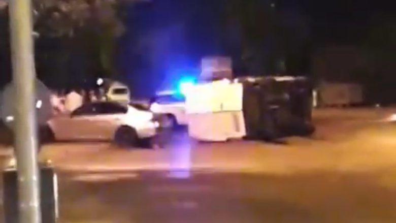 Aksident i rëndë trafiku në Çento të Shkupit