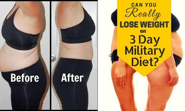 3 kg për 3 ditë – dieta e ushtrisë është regjimi që ju nevojitet para se të filloni plazhin