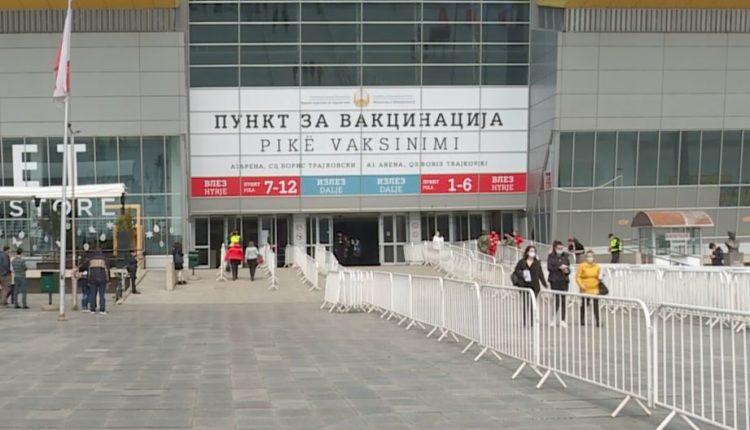 Në Maqedoni për 24 orë dozën e parë të vaksinës e kanë pranuar rreth 1% e popullsisë