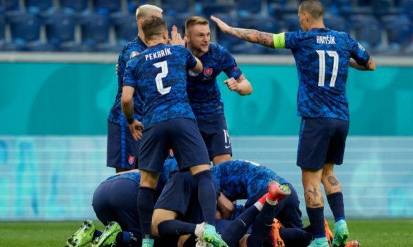 Sllovakia triumfon ndaj Polonisë