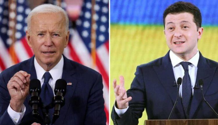 Biden fton presidentin e Ukrainës në Shtëpinë e Bardhë
