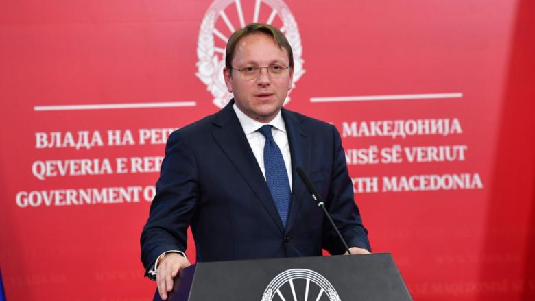 Varhelyi: Fillimi i negociatave me Maqedoninë e Veriut dhe Shqipërinë mbetet prioritet