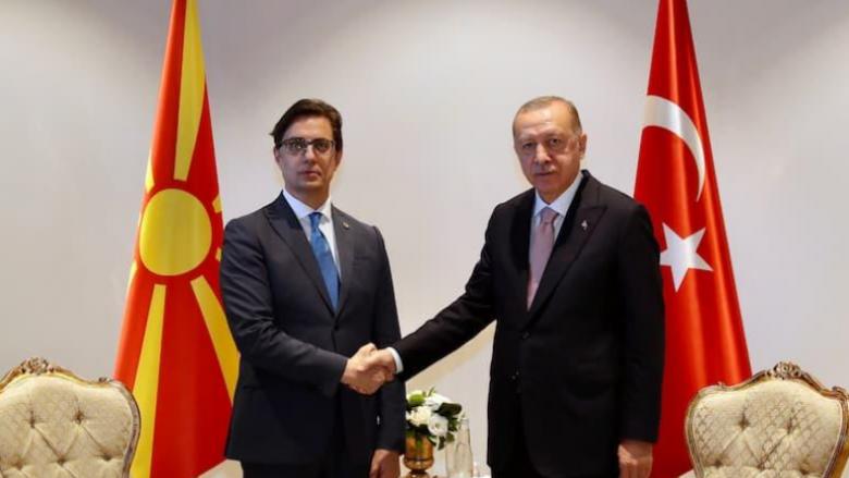 Pendarovski – Erdogan: Marrëdhëniet mes dy vendeve janë të forta dhe miqësore