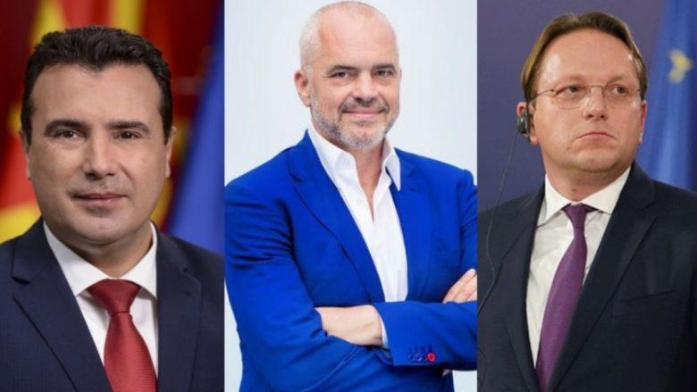 Në Shkup sot mbahet Forumi i parë Ekonomik – pjesëmarrës Zaevi, Rama dhe Varhelyi