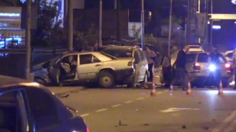 Aksident i rëndë në Shkup, lëndohen disa persona