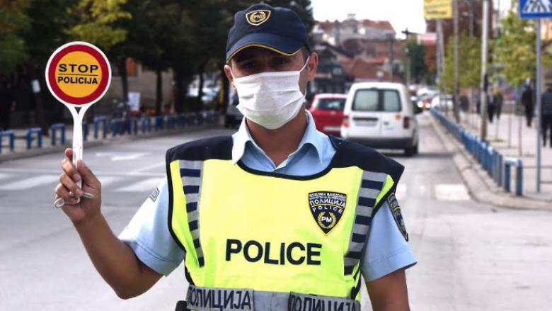 MPB: 319 gjoba në trafik në Shkup, 44 për tejkalim të shpejtësisë