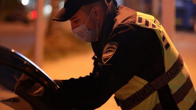 20 persona kanë shkelur orën policore në Maqedoni