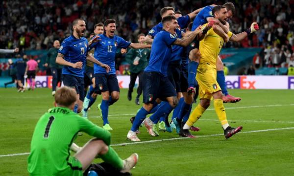 Italia kampione e Evropës, pas fitores ndaj Anglisë në penallti