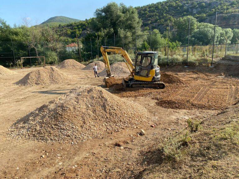 Një tjetër projekt që po realizon komuna e Sarajit