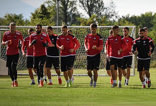 Formacioni i Shkëndijës kundër skuadrës sllovene (FOTO)