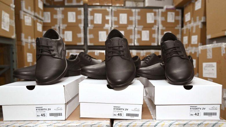 Policia e Maqedonisë më këpucë të reja