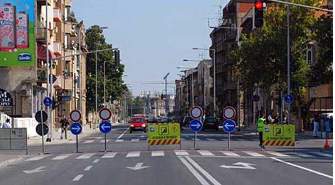 Sot regjim i veçantë i trafikut në Shkup