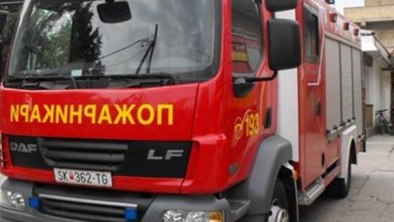 Edhe Bashkia e Shkupit ndanë nga 10 mijë denarë për zjarrfikësit