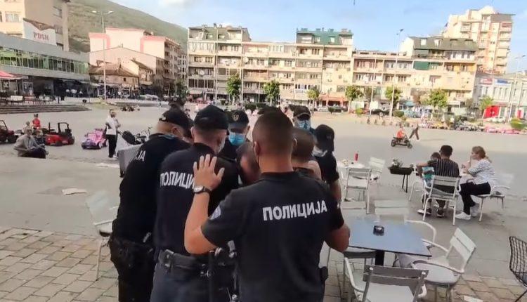 VIDEO – Ja si arrestohet Blerim Ahmedi pas protestës në Tetovë