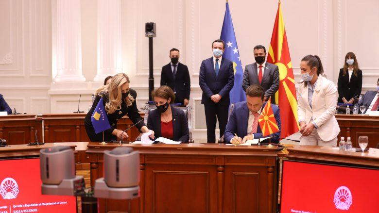Maqedonia dhe Kosova nënshkruan Marrëveshje për Bashkëpunim në fushën e Diasporës