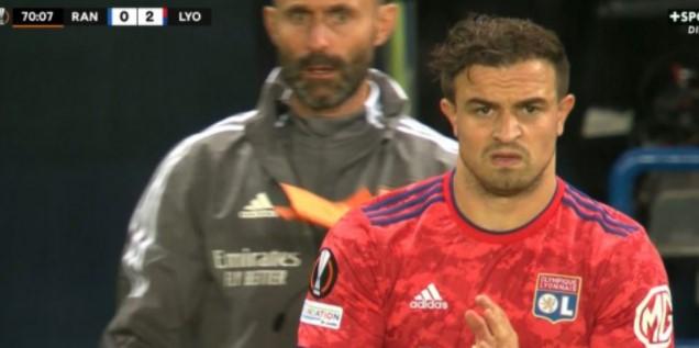 Fiton Shaqiri me shokë, Lyon triumfon kundër Rangers