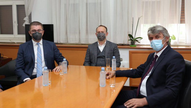 Mickoski: Që në rrethin e parë do t'u bëj thirrje simpatizantëve të OBRM-PDUKM-së që të votojnë për ASH-AAA