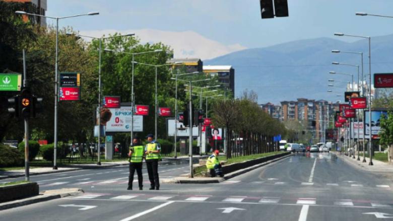 Shkup, pjesërisht rrugë të bllokuara për shkak të protestave