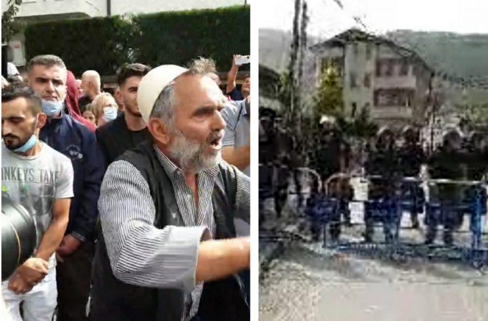 Banori i Reçicës ua hapi dyert protestuesve për të shkuar te selia e BDI-së