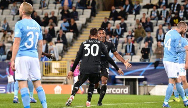 Notat e lojtarëve: Malmo 0-3 Juventus, Sandro dhe Morata më të mirët