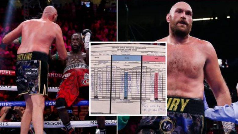 Fury ishte më i mirë se Wilder edhe me pikë, zbulohen rezultatet e gjyqtarëve